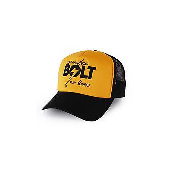 Lightning bolt pure source trucker hat