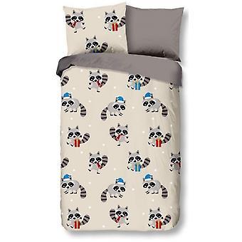 bed cover Hello junior 135x200 cm grey