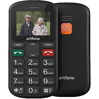 FengChun Seniorenhandy ohne Vertrag | Dual SIM Handy mit Notruftaste | Rentner Handy groe Tasten |