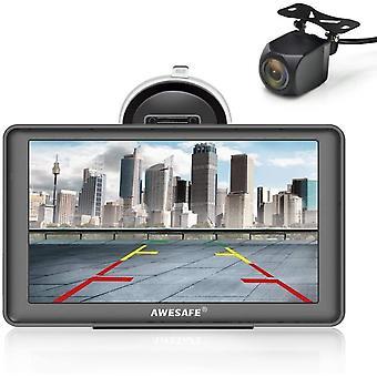 FengChun Bluetooth Navigation mit Rckfahrkamera fr Auto LKW 7 Zoll Navigationsgerte, 2020 Europa