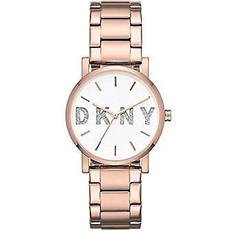 DKNY analoge quartz horloge vrouw met roestvrij staal riem NY2654