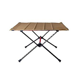 Ultra-light Foldable Camping Table Aluminum Alloy Outdoor Furniture Dinner Desk