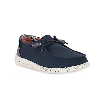 Hey dude denim wendy sneakers fashion