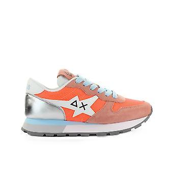 Sun68 Ally Star Basic Coral Silver Sneaker