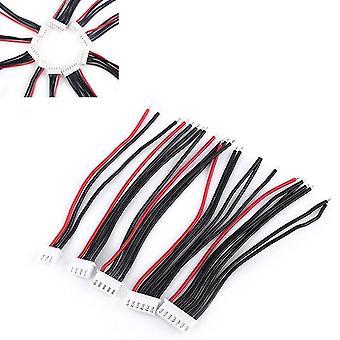 5 stuks batterij balans lader plug lijn / draad / connector kabel