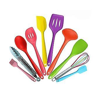 For silikon kjøkkenredskaper sett kjøkkenutstyr 10pcs matlagingsverktøy| Matlaging VerktøySett WS18490