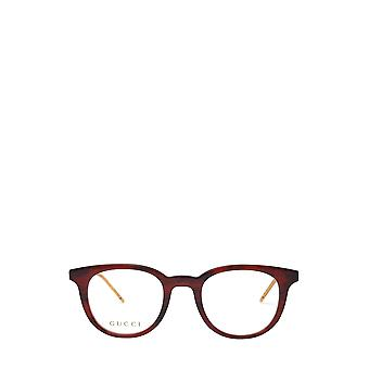 Gucci GG0845O havana męskie okulary