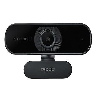Rapoo C260 摄像头 Fhd 1080P Hd720P Usb 2 非常适合团队缩放
