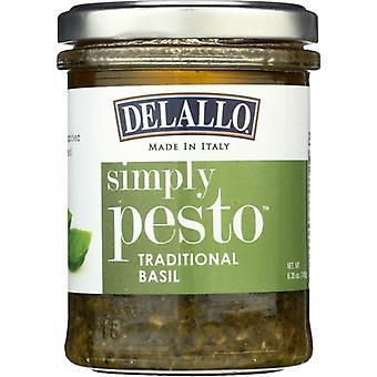 Delallo بيستو زيت الزيتون, حالة من 12 X 6.35 أوقية