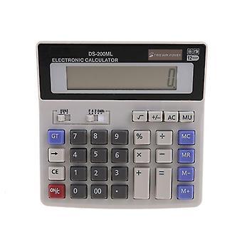 Standard Function Scientific Electronics Desktop Calculators, Dual Power, Big Button 12 Digit