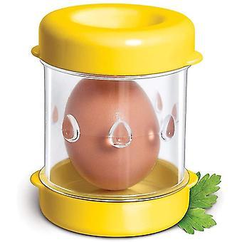 Negative Boiled Egg Peeler, Eggshell Separator(Yellow)