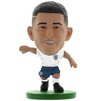 England FA Phil Foden FotbollStarz Fotboll Figurine