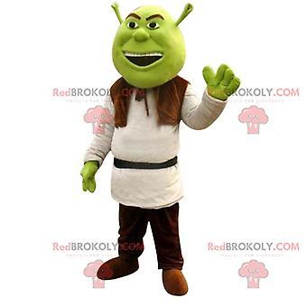 Mascote REDBROKOLY.COM de Shrek, famoso ogro verde do desenho animado de mesmo nome
