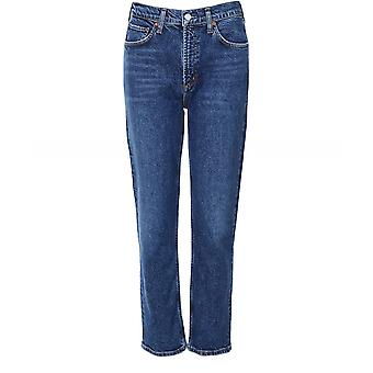 AGOLDE Wilder Mid-Rise Jeans