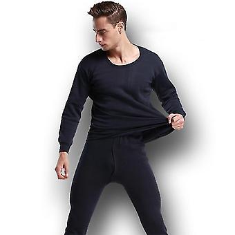 Mens Thermal Underwear Set Long Johns Winter Warm