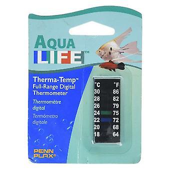 Penn Plax Thermomètre numérique Petite bande 2 «- 1 compte