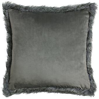 Paoletti Aspen Faux Fur Cushion Cover