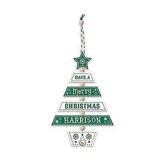 Geschichte & Heraldik Weihnachtsbaumschmuck - Harrison 269800352 Wooden HandCrafted