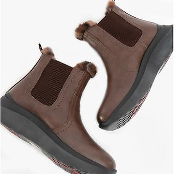 Heavenly Feet Kindred Ladies Ankle Boots Chocolate
