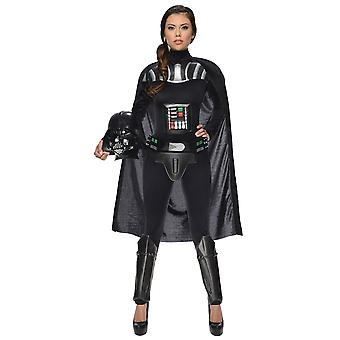 Female Darth Vader Star Wars Women Costume& Helmet
