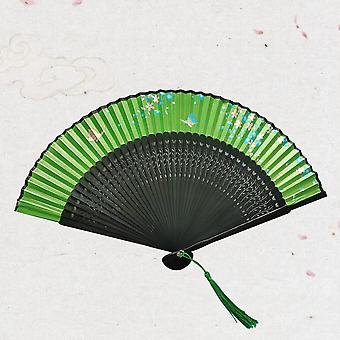 Head Clear Smile Willow Flower Dance Female Classical Chinese Style Small Fan