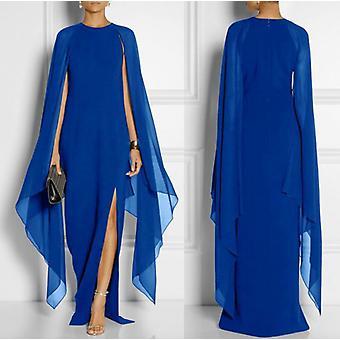 2020 Damen Chiffon Long Dress Atmosphärische Queen Fan Event Kleid