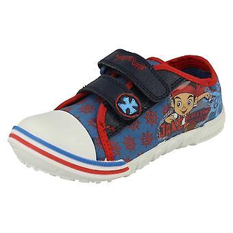 Chłopcy Disney Jake i nigdy nie gruntów piracki skarb buty płótnie