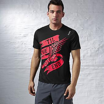 Reebok 'Til The End Running Essentials T-Shirt - Black