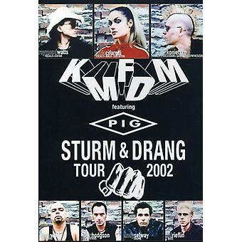 KMFDM - Sturm & Drang Tour 2002 [DVD] USA import