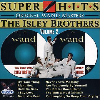 Isley Brothers - hermanos de Isley: importación de Vol. 2-Super Hits [CD] USA