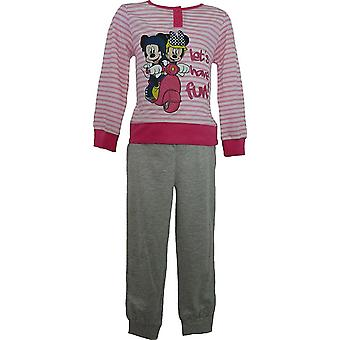 Las niñas Disney Minnie Mouse manga larga pijama ME2092