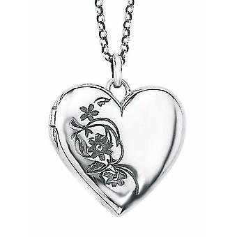 925 Silver Photo Flower for Necklace