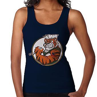 Eye Of The Street Tiger Guile Fighter Women's Vest