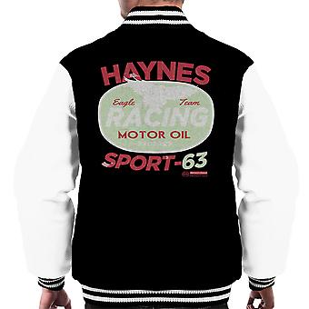 Haynes Eagle Team Racing Motor Oil Men's Varsity Jacket