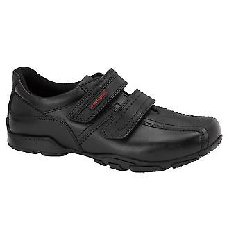 Hush Puppies jongens Mike School schoenen zwart F montage
