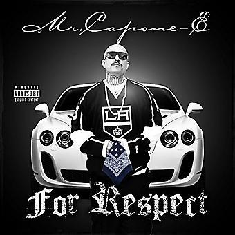Monsieur Capone-E - importation USA pour le Respect [CD]