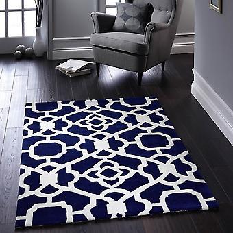 Marrakesh dywaniki w kolorze niebieskim