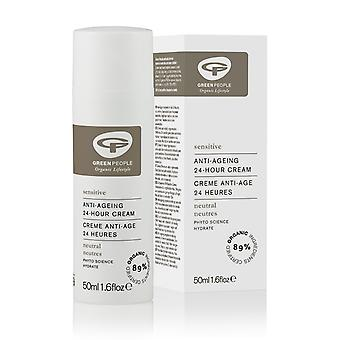 Green People, Neutral Scent Free 24hr Cream, 50ml