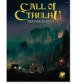 Call of Cthulhu 7th Edition RPG - Keepers Screen Pack - Book
