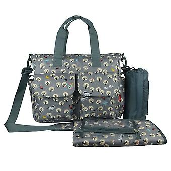 Graue Baby Changing Bag Landleben