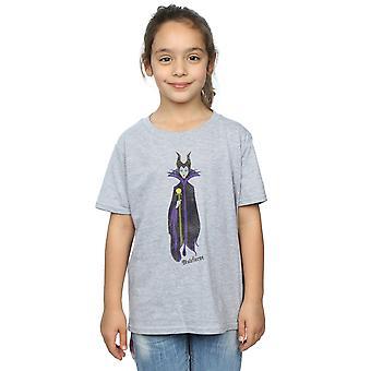Девочки Дисней Спящая красоты классической Малефисент футболку