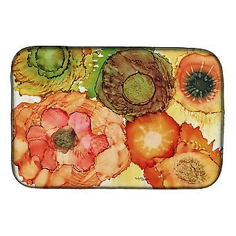 Carolines skatter 8970DDM abstrakte blomster blomstrer rett tørking Mat