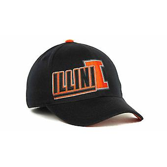 Illinois Fighting Illini NCAA TOW «Embrayage» Stretch monté Hat