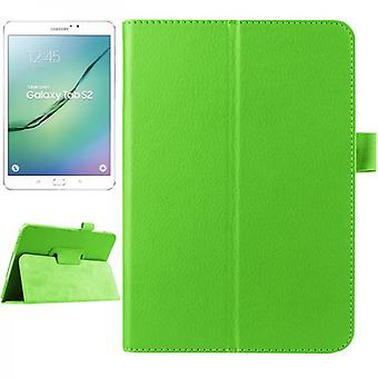 Green cover case for Samsung Galaxy tab S2 8.0 SM T710 T715 T715N