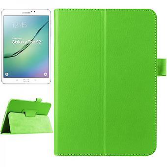 מקרה מגן במקרה ירוק עבור גלקסי Samsung Tab S2 8.0 SM T710 T715 T715N