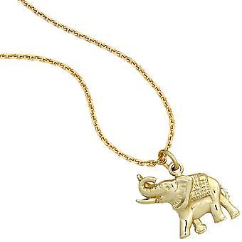 Kettenanhänger Elephant gold Anhänger Elefant 585 Gold Gelbgold