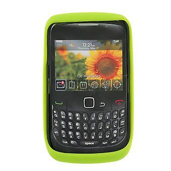 5 pack - Sprint funda de silicona para BlackBerry 9330 Curve 3G/Curve 2 (verde)