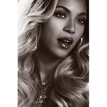 Beyonce Portrait Poster Print