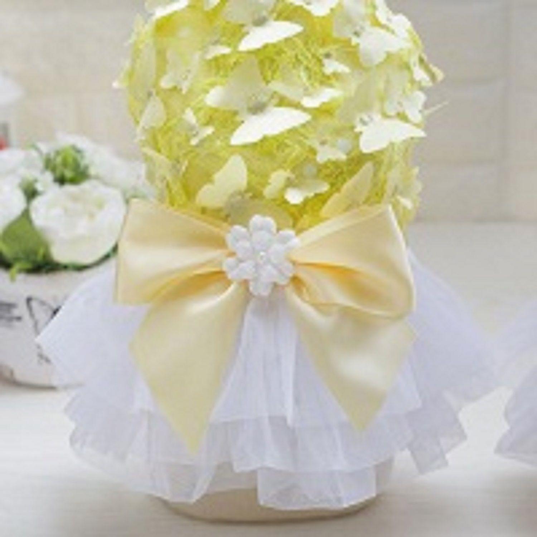 Luxury Butterfly Princess Dog Dress