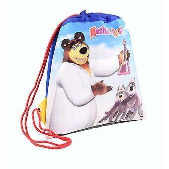 Masha and Multipurpose Bag Blue Bear